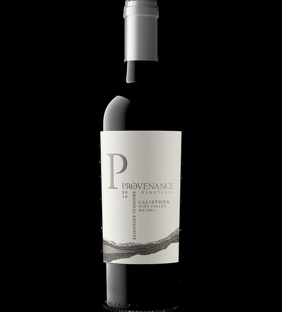 2016 Provenance Vineyards Calistoga Malbec