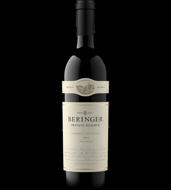 Beringer 2015 Private Reserve Cabernet Sauvignon Bottle Shot