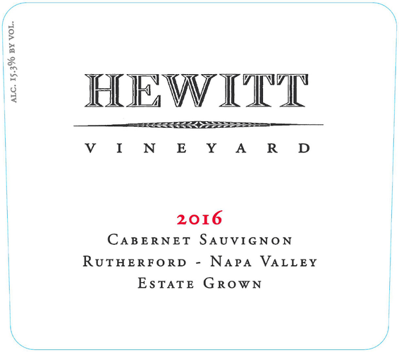 8018431-2016-Hewitt-Rutherford-Cabernet-Sauvignon-Front Label