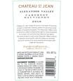 2016 Chateau St. Jean Alexander Valley Cabernet Sauvignon Back Label, image 3