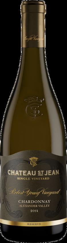 2014 Chateau St. Jean Robert Young Vineyard Reserve Chardonnay Bottle Shot