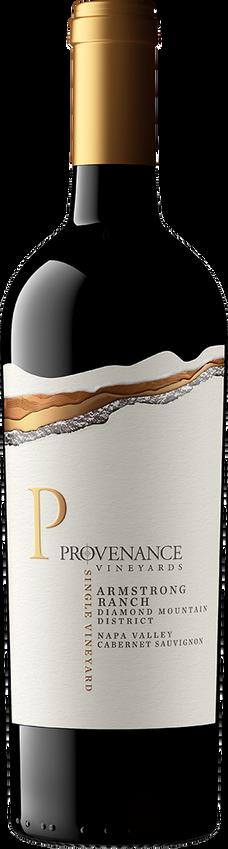 2015 Provenance Armstrong Ranch Vineyard Diamond Mountain Napa Valley Cabernet Sauvignon