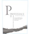 2016 Provenance Vineyards Calistoga Malbec Front Label, image 2