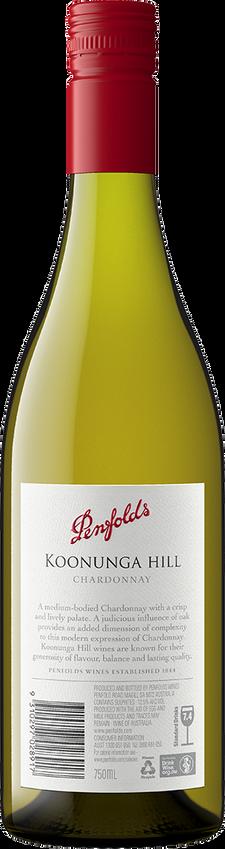 2018 Penfolds Koonunga Hill Chardonnay Back