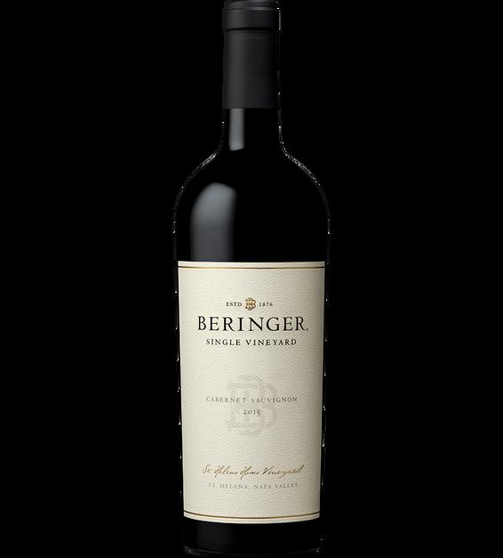 2015 Beringer Saint Helena Home Vineyard Saint Helena Cabernet Sauvignon