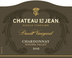 2015 Chateau St. Jean Durell Vineyard Sonoma Valley Chardonnay Front Label, image 2