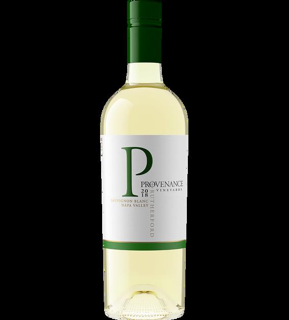 2018 Provenance Vineyards Rutherford Sauvignon Blanc Back Label
