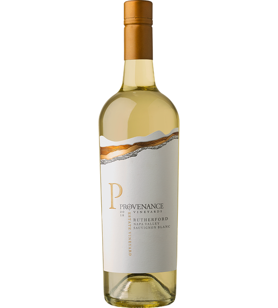 2018 Provenance Vineyards Estate Rutherford Sauvignon Blanc Back Label