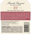 2016 Beaulieu Vineyard Reserve Tapestry Napa Valley Red Blend Back Label, image 3