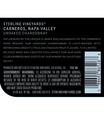 2017 Sterling Vineyards Unoaked Carneros Chardonnay Back Label, image 2