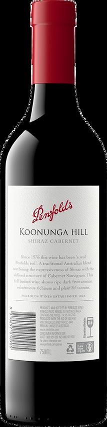 2018 Penfolds Koonunga Hill Shiraz Cabernet Back
