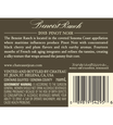 2015 Chateau St. Jean Grace Benoist Ranch Sonoma Coast Pinot Noir Back Label, image 3