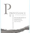 2016 Provenance Vineyards Winemakers Reserve Napa Valley Red Blend Front Label, image 2