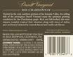 2015 Chateau St. Jean Durell Vineyard Sonoma Valley Chardonnay Back Label, image 3
