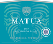 2019 Matua Marlborough Sauvignon Blanc Front Label, image 2