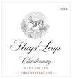 2018 Stags' Leap Napa Valley Sauvignon Blanc Front Label, image 2