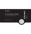 2017 Sterling Vineyards Reserve Napa Valley Chardonnay Front Label, image 2