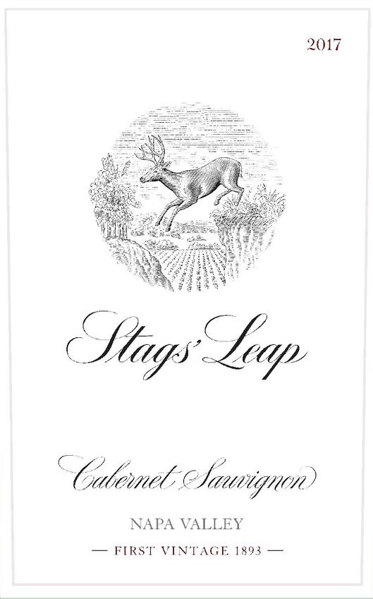 2017 Stags' Leap Cabernet Front Label