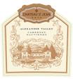 2016 Chateau St. Jean Alexander Valley Cabernet Sauvignon Front Label, image 2