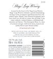 2018 Stags' Leap Napa Valley Sauvignon Blanc Back Label, image 3