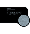 2017 Sterling Vineyards Unoaked Carneros Chardonnay Front Label, image 3