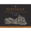 2018 Beringer Winery Exclusive Pinot Noir Front Label, image 2