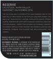 2016 Sterling Vineyards Reserve Cabernet Sauvignon, image 3