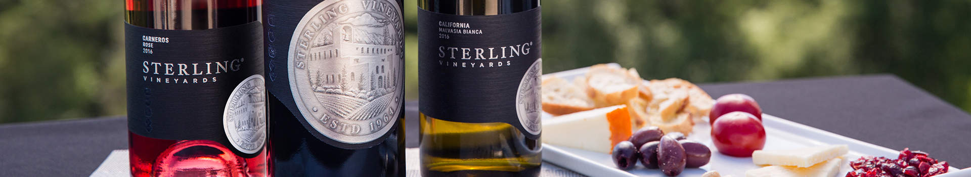 Sterling Malvasia Bianca and Rosé