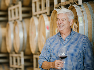 Winemaker Jon Priest