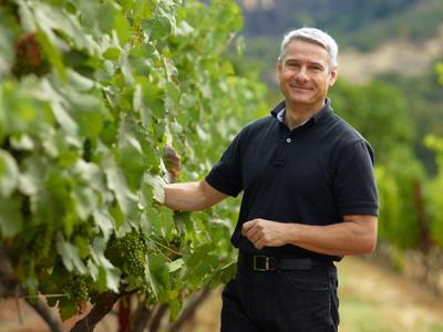 Winemaker Christophe Paubert